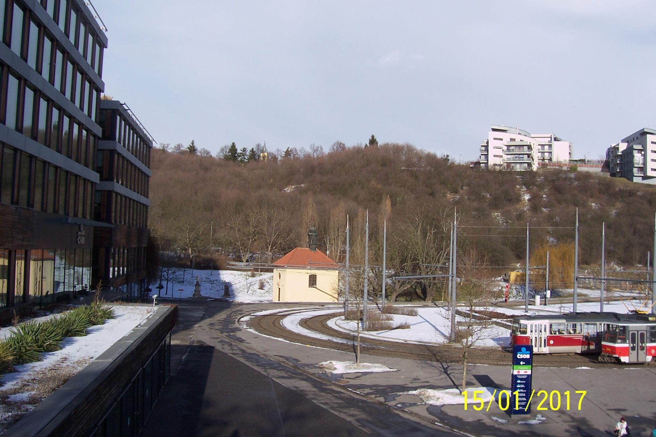 Zastavení 1 - tramvajová smyčka
